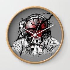 Space Parasitism Wall Clock
