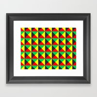 Vermeyden Pattern Framed Art Print