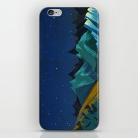 Blue Mountains iPhone & iPod Skin