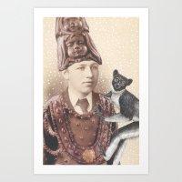 Salvaged Relatives (04) Art Print