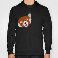 Red Panda Face Hoody