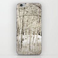 She Was a Trailer Park Girl at Heart - B&W iPhone & iPod Skin