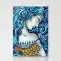 Calypso Sleeps Stationery Cards