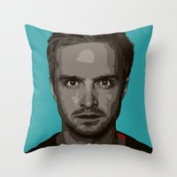 Breaking Bad Jesse Throw Pillow
