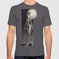Catwoman Mens Fitted Tee Asphalt SMALL