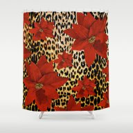 Animal Print Leopard And… Shower Curtain