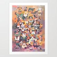 Schema 13 Art Print