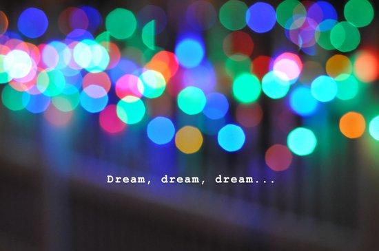 Dream, dream, dream... Art Print