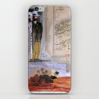 KIT AND PORT (THE SHELTERING SKY) iPhone & iPod Skin