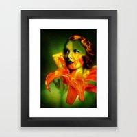 Cordelia Framed Art Print