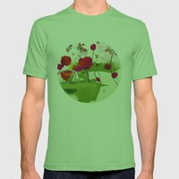 Spring's coming Mens Fitted Tee Grass SMALL