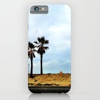 iPhone & iPod Case featuring Palm trees at the beach. by John Martino