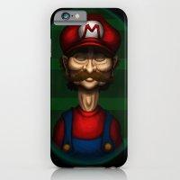 Sad Mario iPhone 6 Slim Case