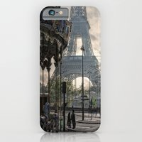 iPhone & iPod Case featuring manège parisienne by Jo.PinX