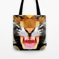Tiger - Geo Tote Bag