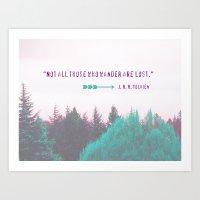 Dreamland Forest - J. R.… Art Print