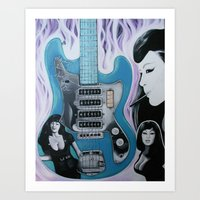 Always Tura Satana Art Print