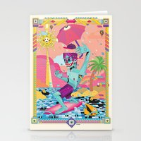 surfeur Stationery Cards