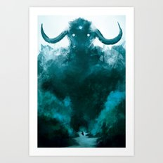 The Colossus Art Print