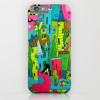 iPhone & iPod Case featuring Cities of the Future by Frenemy