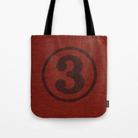 Number Series: #3 Tote Bag