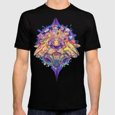 Infinite sun Mens Fitted Tee Black SMALL