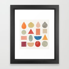 abstractions 1 Framed Art Print