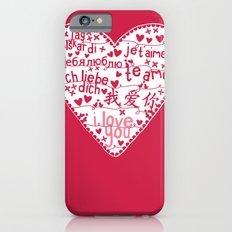Te Amo Slim Case iPhone 6s