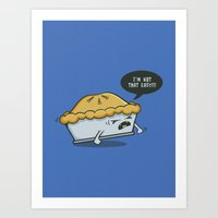 Not That Easy Art Print