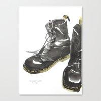 Doc Mart Canvas Print