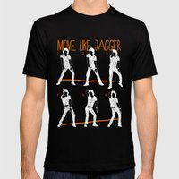 Move Like Jagger 2 Mens Fitted Tee Black SMALL