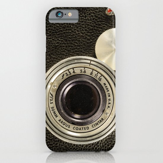 Vintage Argus camera iPhone & iPod Case