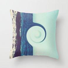 Ocean and Sky Throw Pillow