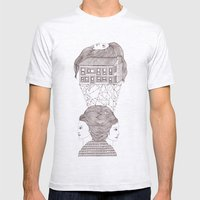 North, East, West Mens Fitted Tee Ash Grey SMALL