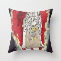 üss Throw Pillow