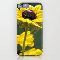 iPhone & iPod Case featuring yellow flowers by redlinedesign®