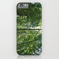 iPhone & iPod Case featuring i want to be on the tops of all the trees by LeoTheGreat