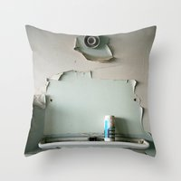 Lost Mirror Throw Pillow