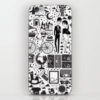 LIKES PATTERNS iPhone & iPod Skin
