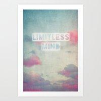 Limitless Mind Art Print