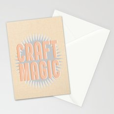 Craft Magic // Coral Stationery Cards