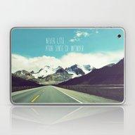 Never Lose Your Sense Of… Laptop & iPad Skin