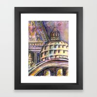 St. Marks Cathedral in Venice Framed Art Print