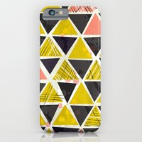 iPhone & iPod Case featuring Tribal Triangles by a. peterson