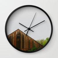 Cabin Season Wall Clock