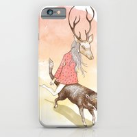 wolf and dear iPhone 6 Slim Case