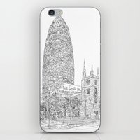 The Gherkin iPhone & iPod Skin