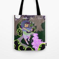 Ghost Battle Tote Bag