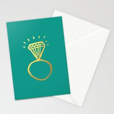 Diamond Ring Stationery Cards