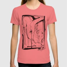Exploring The Beauty Of … Womens Fitted Tee Pomegranate SMALL